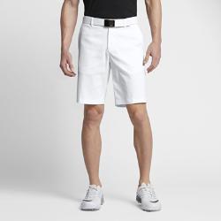 Мужские шорты для гольфа Nike Flat Front 26,5 смМужские шорты для гольфа Nike Flat Front 26,5 см — обновление классического профиля из эластичной влагоотводящей ткани для комфорта во время игры. Преимущества  Технология Dri-FIT отводит влагу и обеспечивает комфорт Эластичная ткань с начесом не сковывает движения Карманы спереди и сзади  Информация о товаре  Стандартная посадка Пояс на пуговице и ширинка Состав: 95% полиэстер Dri-FIT/5% спандекс Машинная стирка Импорт<br>