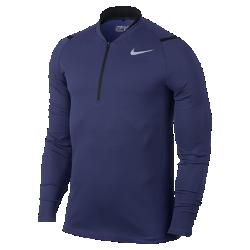 Мужская футболка для гольфа Nike AeroReact Half-ZipМужская футболка для гольфа Nike AeroReact Half-Zip с инновационной технологией для поддержания естественной температуры тела обеспечивает абсолютный комфорт во время игры.<br>