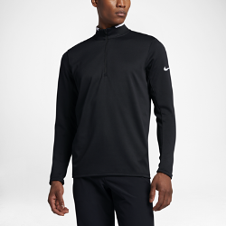 Мужская футболка для гольфа с длинным рукавом Nike Dry Half-ZipМужская футболка для гольфа с длинным рукавом Nike Dry Half-Zip из эластичной влагоотводящей ткани обеспечивает защиту и свободу движений в прохладную погоду.<br>