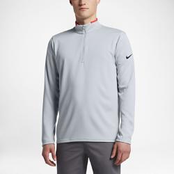 Мужская футболка для гольфа с длинным рукавом Nike Dri-FIT Half-ZipМужская футболка для гольфа с длинным рукавом Nike Dri-FIT Half-Zip из эластичной влагоотводящей ткани обеспечивает защиту и свободу движений в прохладную погоду.<br>
