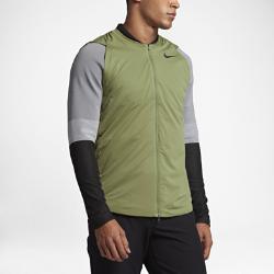 Мужская куртка для гольфа Nike Zoned AeroLayerМужская куртка для гольфа Nike Zoned AeroLayer идеально подходит для игры во влажную и ветреную погоду благодаря водоотталкивающему покрытию и мягкой и теплой ткани, которая не сковывает движений.<br>
