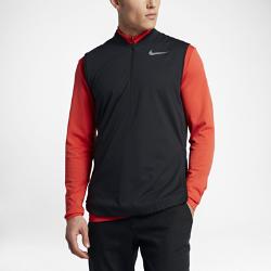 Мужской жилет для гольфа Nike AeroLayerМужской жилет для гольфа Nike AeroLayer — идеальная модель для меняющихся погодных условий: теплая, водоотталкивающая ткань обеспечивает комфорт на протяжении всей игры.<br>