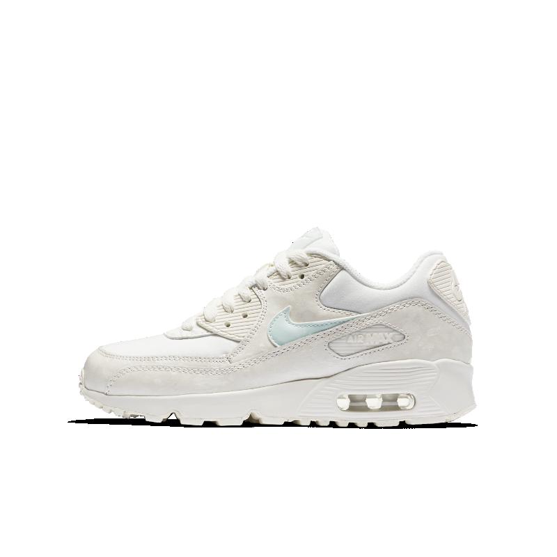 huge discount c72f1 14c62 Nike Air Max 90 Mesh (3-6) Older Kids Shoe - Cream  833340-107  FOOTY.COM