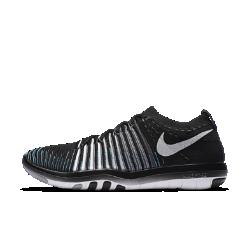 Женские кроссовки для тренинга Nike Free Transform FlyknitЖенские кроссовки для тренинга Nike Free Transform Flyknit обеспечивают гибкость и поддержку во время тренировок благодаря тканому верху с плотной посадкой и инновационной подметке, которая расширяется, сгибается и сжимается вместе со стопой.  Гибкое и надежное основание  Подметка с рисунком tri-star расширяется и сжимается во всех направлениях при каждом шаге, равномерно распределяя давление для дополнительной гибкости и стабилизации. Резиновые накладки на боковой части кроссовок усиливают стабилизацию и сцепление.  Поддержка, плотная посадка и комфорт  Практически бесшовный тканый верх Flyknit со специальными зонами для воздухопроницаемости, эластичности и поддержки обеспечивает плотную посадку.  Динамическая фиксация  Невероятно прочные и сверхлегкие нити Flywire обеспечивают динамическую поддержку и надежную фиксацию, не сковывая движений.  Подробнее  Подошва из пеноматериала для легкости, гибкости и амортизации Эластичные желобки на подметке повышают гибкость  Истоки Flyknit  При создании технологии Nike Flyknit специалисты опирались на просьбы атлетов создать обувь, которая бы практически не ощущалась на ноге и сидела словно вторая кожа. Команда программистов, инженеров и дизайнеров Nike в течение 4 лет разрабатывала технологию, которая позволит повысить износостойкость ткани для верха кроссовок и позволит ей дольше сохранять форму. Им удалось довести разработку до совершенства с учетом всех требований к поддержке, эластичности и воздухопроницаемости. Результатом работы стала суперлегкая и практически бесшовная ткань верха, обеспечивающая оптимальное прилегание.<br>