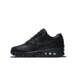 Кроссовки для школьников Nike Air Max 90 LeatherКроссовки для школьников Nike Air Max 90 Leather с кожаным верхом и видимой вставкой Max Air в области пятки обеспечивают прочность и непревзойденную амортизацию.<br>