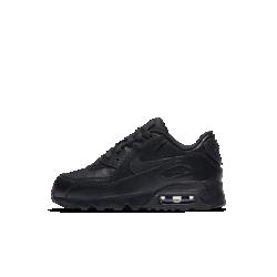 Кроссовки для дошкольников Nike Air Max 90 LeatherКроссовки для дошкольников Nike Air Max 90 Leather с кожаным верхом и видимой вставкой Max Air в пятке обеспечивают прочность и непревзойденную амортизацию.<br>