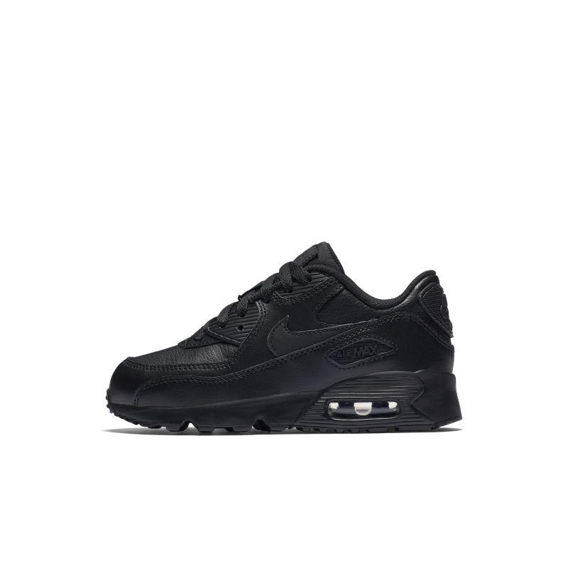 Nike Air Max 90 Leather Küçük Çocuk Ayakkabısı  833414-001 -  Siyah 31 Numara Ürün Resmi