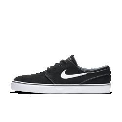 Мужская обувь для скейтбординга Nike SB Zoom Stefan Janoski OGМужская обувь для скейтбординга Nike SB Zoom Stefan Janoski OG создана с учетом рекомендаций легендарного скейтбордиста Стефана Яноски. В этой модели классический стиль сочетается с низкопрофильной системой амортизации для защиты от ударных нагрузок. Гибкая резиновая подметка с зигзагообразным рисунком обеспечивает превосходное сцепление и контроль доски.<br>