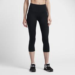 Женские капри для тренинга Nike Zonal Strength 53,5 смЖенские капри для тренинга Nike Zonal Strength 53,5 см из эластичной ткани обеспечивают зональную компрессию и поддержку основных групп мышц.<br>