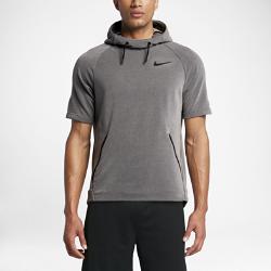Мужская худи для тренинга с коротким рукавом Nike DryМужская худи для тренинга Nike Dry из влагоотводящей ткани с коротким рукавом и большим капюшоном обеспечивает защиту, комфорт и свободу движений во время интенсивныхтренировок на улице.<br>