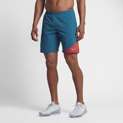Мужские беговые шорты Nike Flex 2-in-1 23 смМужские беговые шорты Nike Flex 2-in-1 23 см из дышащей эластичной ткани с вшитыми шортами обеспечивают невесомую поддержку, удобную посадку и свободу движений.<br>