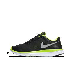 Беговые кроссовки для школьников Nike Flex 2016 (3.5Y–7Y)Беговые кроссовки для школьников Nike Flex 2016 RN обеспечивают оптимальную гибкость благодаря верху из сетки Engineered mesh и специальному трехгранному рисунку подметки.<br>