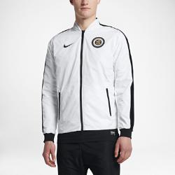Мужская куртка Nike F.C.Мужская куртка Nike F.C. с двусторонней молнией обеспечивает регулируемую защиту.<br>
