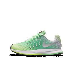Беговые кроссовки для школьников Nike Air Zoom Pegasus 33Dynamic FitЛегкий воздухопроницаемый верх из сетки дополнен нитями Flywire для плотной посадки, повторяющей естественные движения стопы.<br>