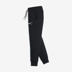 Брюки для мальчиков школьного возраста Nike AirБрюки для мальчиков школьного возраста Nike Air из мягкого флиса с обратным начесом для тепла и с зауженным кроем для комфорта и защиты.<br>