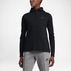 Женская куртка Nike Tech KnitЖенская куртка Nike Tech Knit из невероятно мягкого и дышащего трикотажа со смелой плиссировкой на спине обеспечивает защиту от холода и плотную, но естественную посадку.<br>