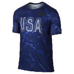Мужская футболка USAB NikeМужская футболка Nike USAB изготовлена из мягкой влагоотводящей ткани, которая обеспечивает вентиляцию и комфорт.<br>