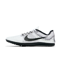 Шиповки унисекс для бега на средние дистанции Nike Zoom Matumbo 3Шиповки унисекс для бега на средние дистанции Nike Zoom Matumbo 3 идеально подходят для бега на 3–10 километровые дистанции благодаря ультралегкой дышащей сетке, мягкой амортизации и накладке на пятке из кожи акулы, которая обеспечивает сцепление с поверхностью.<br>