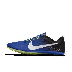 Беговые шиповки унисекс Nike Zoom Victory Elite 2Невероятно легкие беговые шиповки унисекс Nike Zoom Victory Elite 2 с минималистичной конструкцией и инновационной шипованной подошвой помогут обойти всех соперников.  Воздухопроницаемая конструкция  Дышащая ткань Flymesh обеспечивает вентиляцию, легкость и комфорт.  Оптимальная гибкость  Инновационная шипованная подошва сочетает жесткие и гибкие зоны для оптимальной амортизации.  Свобода движений  Анатомическая конструкция области носка со свободным пространством для пальцев обеспечивает естественные движения при отталкивании.<br>