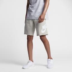 Мужские шорты с логотипом Nike SportswearМужские шорты с логотипом Nike Sportswear из мягкой ткани френч терри с необработанными кромками создают непринужденный образ и обеспечивают длительный комфорт.<br>