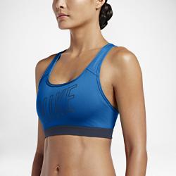 Спортивное бра Nike Classic Padded LogoСпортивное бра Nike Classic Padded Logo отводит влагу от кожи, обеспечивая фиксацию и поддержку во время занятий средней интенсивности: тренировок, бега и кардионагрузок.<br>