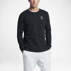 Мужская теннисная футболка с длинным рукавом NikeCourtМужская теннисная футболка с длинным рукавом NikeCourt идеально подходит для разминки и тренировок на улице, обеспечивая комфорт и свободу движений на корте.<br>