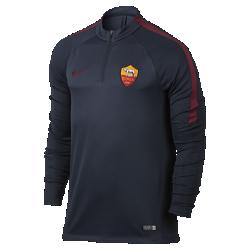 Мужская игровая футболка A.S. Roma DrillМужская игровая футболка A.S. Roma Drill обеспечивает комфорт и свободу движений во время тренировки и разминки благодаря влагоотводящей ткани и эргономичным характеристикам.<br>