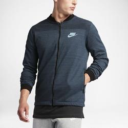 Мужская куртка из трикотажного материала Nike Sportswear Advance 15Мужская куртка Nike Sportswear Advance 15 из мягкого трикотажного материала джерси с карманами на молнии и минималистичным дизайном — новый уровень универсальности с современными деталями.<br>