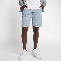 Мужские шорты из трикотажного материала Nike Sportswear Advance 15Мужские шорты из трикотажного материала Nike Sportswear Advance 15 дополнены современными деталями: мягкая трикотажная ткань джерси, слегка зауженный крой и лаконичные линиисилуэта.<br>