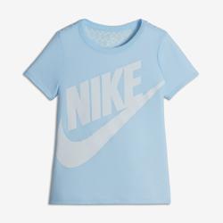 Футболка для девочек школьного возраста Nike SportswearФутболка для девочек школьного возраста Nike Sportswear из мягкой и прочной смесовой ткани на основе хлопка обеспечивает комфорт на весь день.<br>