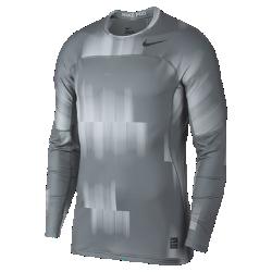 Мужская футболка для тренинга с длинным рукавом Nike Pro HyperWarmМужская футболка для тренинга с длинным рукавом Nike Pro HyperWarm из эластичной ткани удерживает тепло, обеспечивая комфорт во время тренировок на улице.<br>