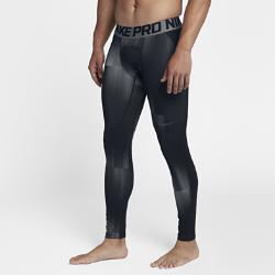 Мужские тайтсы для тренинга Nike Pro HyperWarmМужские тайтсы для тренинга Nike Pro HyperWarm из эластичной ткани удерживают тепло, обеспечивая комфорт во время тренировок на улице.<br>