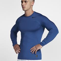 Мужская футболка для тренинга с длинным рукавом Nike Pro HyperWarmМужская футболка для тренинга с длинным рукавом Nike Pro HyperWarm из эластичной ткани с эргономичными швами удерживает тепло и обеспечивает свободу движений во время тренировок на улице.<br>
