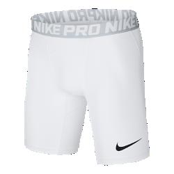 <ナイキ(NIKE)公式ストア>ナイキ プロ メンズ 15cm トレーニングショートパンツ 838062-100 ホワイト画像