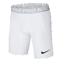 <ナイキ(NIKE)公式ストア> ナイキ プロ メンズ 15cm トレーニングショートパンツ 838062-100 ホワイト ★30日間返品無料 / Nike+メンバー送料無料画像