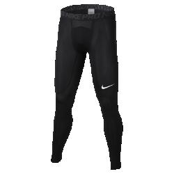 Мужские тайтсы для тренинга Nike ProСозданные для подготовки к игре и занятий в зале мужские тайтсы для тренинга Nike Pro из прочной влагоотводящей ткани, тянущейся во всех направлениях, обеспечивают комфорт во время тренировок.  АБСОЛЮТНЫЙ КОМФОРТ  Быстросохнущая ткань с технологией Dri-FIT отводит влагу от кожи.  СВОБОДА ДВИЖЕНИЙ  Плотно прилегающий эластичный пояс фиксирует посадку, а эластичная ткань обеспечивает свободу движений.<br>