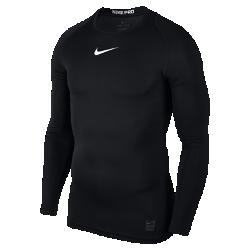 Мужская футболка с длинным рукавом Nike ProМужская футболка с длинным рукавом Nike Pro из легкой и эластичной влагоотводящей ткани со вставками из сетки обеспечивает комфорт и охлаждение во время тренировок исоревнований.  ВЕНТИЛЯЦИЯ И КОМФОРТ  Ткань Dri-FIT обеспечивает превосходную воздухопроницаемость и комфорт, выводя влагу на поверхность ткани, где она быстро испаряется. Вставки из сетки усиливают вентиляцию, обеспечивая охлаждение в самые жаркие моменты игры.  СВОБОДА ДВИЖЕНИЙ  Эластичная ткань плотно прилегает к корпусу, не сковывая руки и грудь. Плоские швы не натирают кожу во время физических упражнений.<br>
