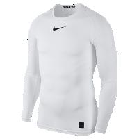<ナイキ(NIKE)公式ストア> ナイキ プロ メンズ ロングスリーブ トップ 838078-100 ホワイト ★30日間返品無料 / Nike+メンバー送料無料画像