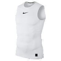 <ナイキ(NIKE)公式ストア> ナイキ プロ メンズ スリーブレス トレーニングトップ 838086-100 ホワイト ★30日間返品無料 / Nike+メンバー送料無料画像