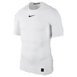 Мужская футболка для тренинга с коротким рукавом Nike ProОТВЕДЕНИЕ ВЛАГИ И КОМФОРТ МНОГОСЛОЙНОСТЬ ДЛЯ ВЫСОКИХ РЕЗУЛЬТАТОВ  Мужская футболка для тренинга с коротким рукавом Nike Pro из прочной влагоотводящей ткани, тянущейся во всех направлениях, обеспечивает комфорт во время тренировок. Ее можно носить как отдельно, так и в сочетании с другой экипировкой. Для игры и тренировок.  ОТВЕДЕНИЕ ВЛАГИ И КОМФОРТ  Ткань Dri-FIT обеспечивает превосходную воздухопроницаемость и комфорт, выводя влагу на поверхность, где она быстро испаряется.  СОЗДАНО ДЛЯ ДВИЖЕНИЯ  Эластичная ткань поддерживает корпус, а особый крой повторяет изгибы плеч и рук для естественной свободы движений.<br>