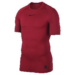 Мужская футболка для тренинга с коротким рукавом Nike ProОТВЕДЕНИЕ ВЛАГИ И КОМФОРТ МНОГОСЛОЙНОСТЬ ДЛЯ ВЫСОКИХ РЕЗУЛЬТАТОВ  Мужская футболка для тренинга с коротким рукавом Nike Pro — идеальный базовый слой из эластичной влагоотводящей ткани для комфорта и свободы движений на тренировке.  ОТВЕДЕНИЕ ВЛАГИ И КОМФОРТ  Ткань Dri-FIT обеспечивает превосходную воздухопроницаемость и комфорт, выводя влагу на поверхность ткани, где она быстро испаряется.  СОЗДАНО ДЛЯ ДВИЖЕНИЯ  Эластичная ткань поддерживает корпус, а особый крой повторяет изгибы плеч и рук для естественной свободы движений.<br>