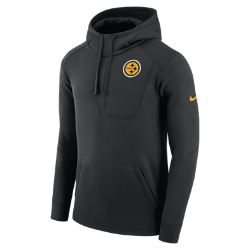 Мужская худи Nike Fly Fleece (NFL Steelers)Мужская худи Nike Fly Fleece (NFL Steelers) из мягкой и теплой ткани украшена клубной символикой.<br>
