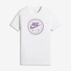 Футболка для мальчиков школьного возраста Nike Sportswear Air WorldФутболка для мальчиков школьного возраста Nike Sportswear Air World из мягкой ткани обеспечивает длительный комфорт.<br>