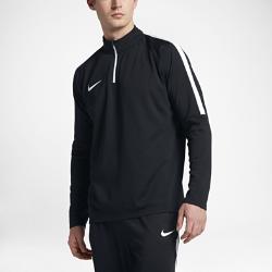 Мужская футболка для футбольного тренинга с длинным рукавом и молнией 1/4 Nike Dry AcademyМужская футболка для футбольного тренинга с длинным рукавом и молнией 1/4 Nike Dry Academy обеспечивает прилегающую посадку, позволяя полностью сконцентрироваться на тренировке.Конструкция с молнией 1/4 и воротником-стойкой обеспечивает индивидуальную посадку.<br>
