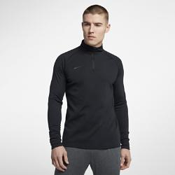 Мужская футболка для футбольного тренинга с молнией 1/4 Nike Dri-FIT AcademyМужская футболка для футбольного тренинга с молнией 1/4 Nike Dri-FIT Academy с прилегающей посадкой позволяет полностью сконцентрироваться на тренировке.Конструкция с молнией 1/4 и воротником-стойкой обеспечивает индивидуальную посадку.<br>
