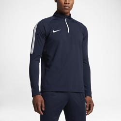 Мужская футболка для футбольного тренинга с длинным рукавом и молнией 1/4 Nike Dry AcademyМужская футболка для футбольного тренинга с длинным рукавом и молнией 1/4 Nike Dry Academy обеспечивает прилегающую посадку, позволяя полностью сконцентрироваться на тренировке.&amp;#160;Конструкция с молнией 1/4 и воротником-стойкой обеспечивает индивидуальную посадку.<br>