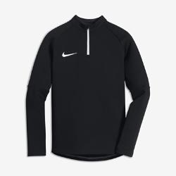 Футболка для футбольного тренинга для школьников Nike Dri-FITФутболка для футбольного тренинга для школьников Nike Dri-FIT из влагоотводящей ткани обеспечивает защиту и комфорт в прохладную погоду.<br>