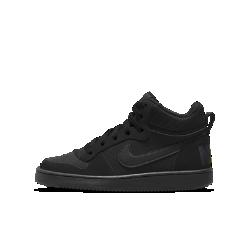 Кроссовки для школьников Nike Court Borough MidКроссовки для школьников Nike Court Borough Mid обеспечивают комфорт в движении благодаря поддерживающему профилю средней высоты и гибкой подошве cupsole.<br>