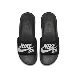 Nike SB Benassi Solarsoft Men's Slide Size 8 (Black)