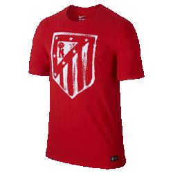 Мужская футболка Atletico de Madrid CrestМужская футболка Atletico de Madrid Crest с клубной графикой на мягкой хлопковой ткани отдает дань уважения любимой команде.<br>
